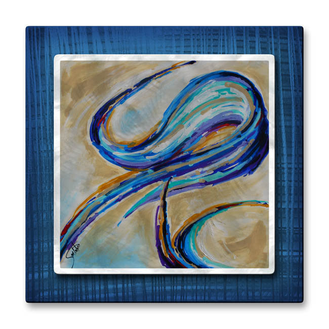 Backlash Swirl Modern Wall Art