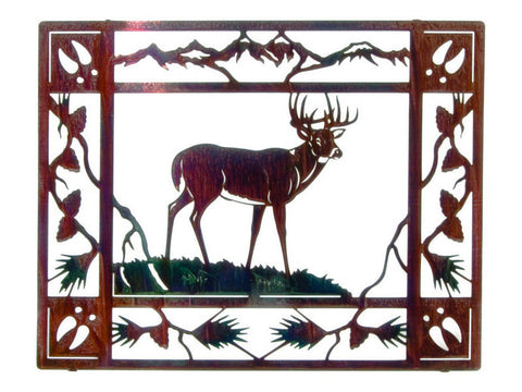 Adornment of the Great Buck Wall Sculpture
