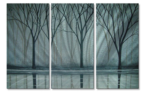 A Foggy Day Tree Wall Art