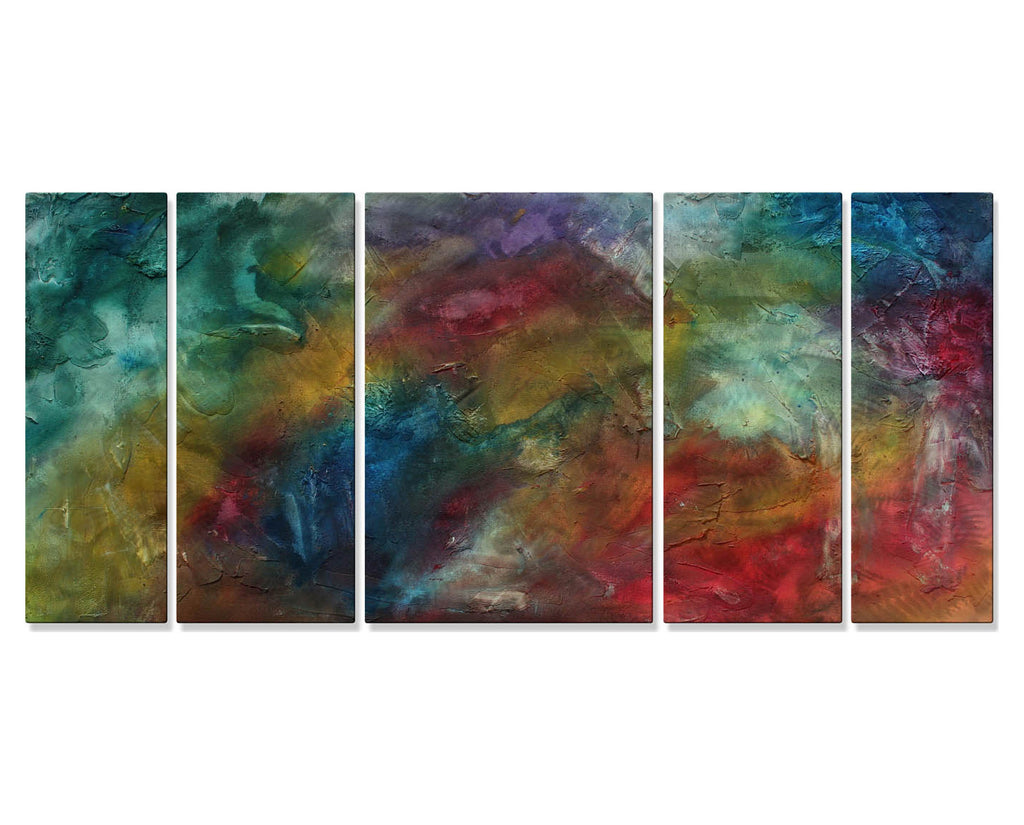 Inside the Rainbow Wall Art Set of 5