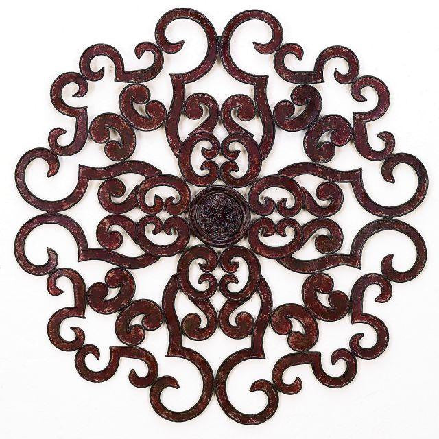 "50"" Regal Paradox Handmade Iron Wall Sculpture"