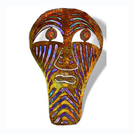 Abstract Tribal Mask Wall Art