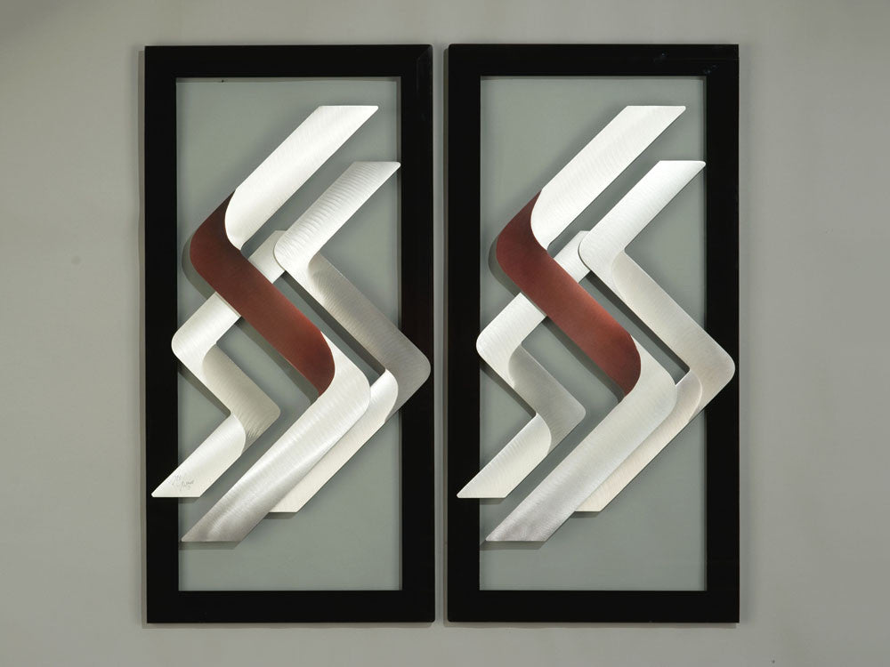 Angled Motion Modern Wall Art