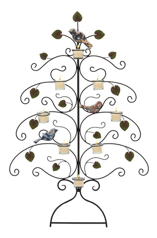 Birds of a Feather Wall Candle Holder