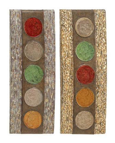 Artisan Contemporary Metal Wall Art Set of 2