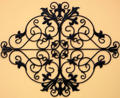 From the Garden Gate Handcrafted Metal Wall Art Grille