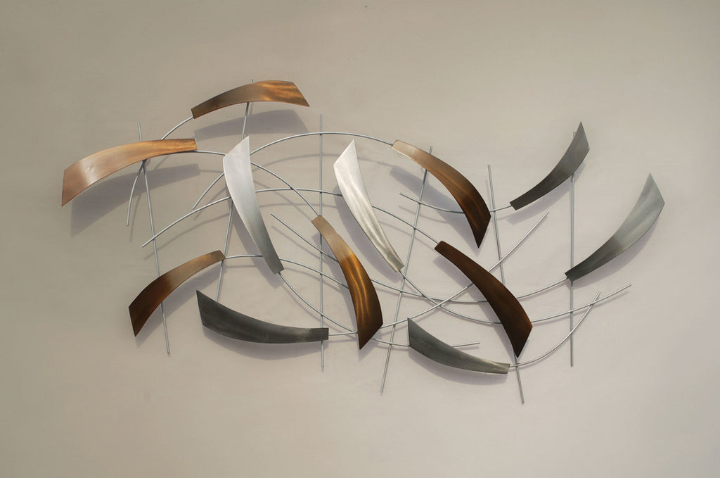 Abstract Ambitions Metal Wall Art