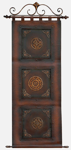 Palatial Adornments Metal Wall Hanging