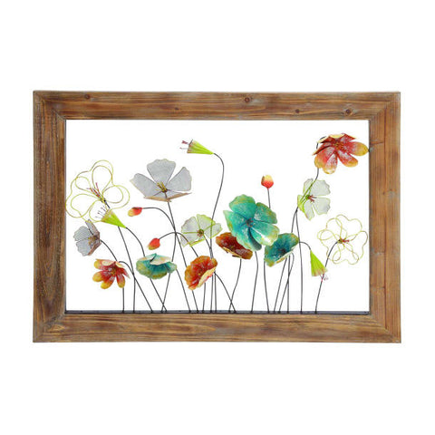 Wildflowers Window Wall Art