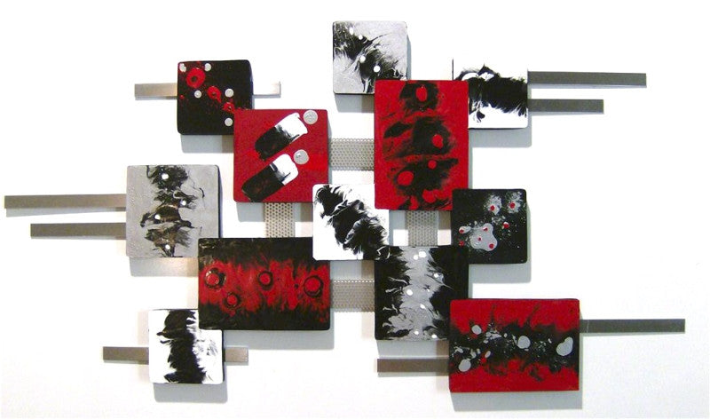 Catalyst of the Imagination Handmade Wood Wall Sculpture