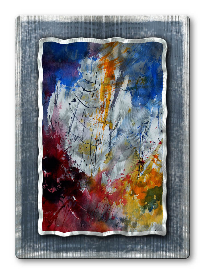 Catalyst Abstract Handmade Metal Wall Art