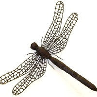 Dragonfly Dream Handmade Metal Wall Sculpture