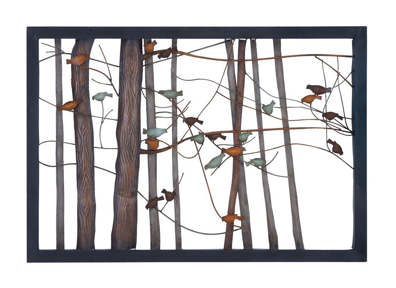 A Popular Perch Bird & Tree Wall Art