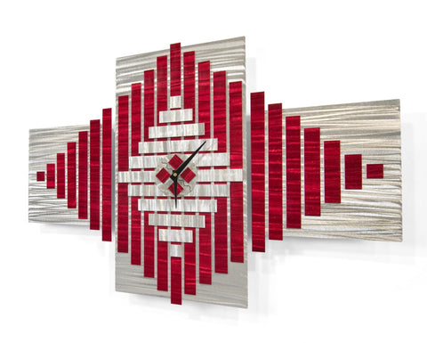 Time in Flight Abstract Wall Clock