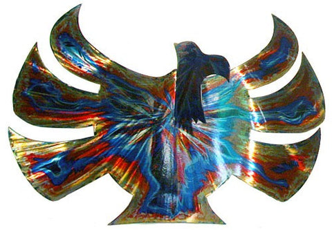 Abstract American Eagle Metal Wall Decoration