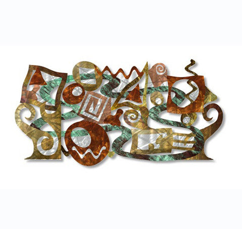 Divine Dimensions Metal Wall Sculpture