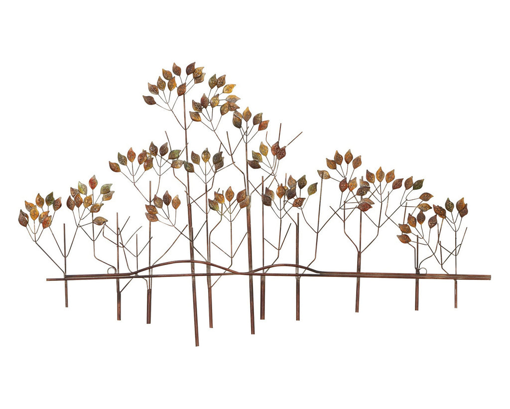 Natural Etchings Trees Metal Wall Art