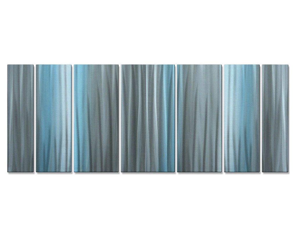 Blue My Mind Wall Art Set of 7