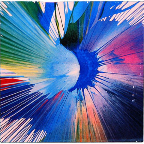 Aqua Awakening Abstract Metal Wall Art