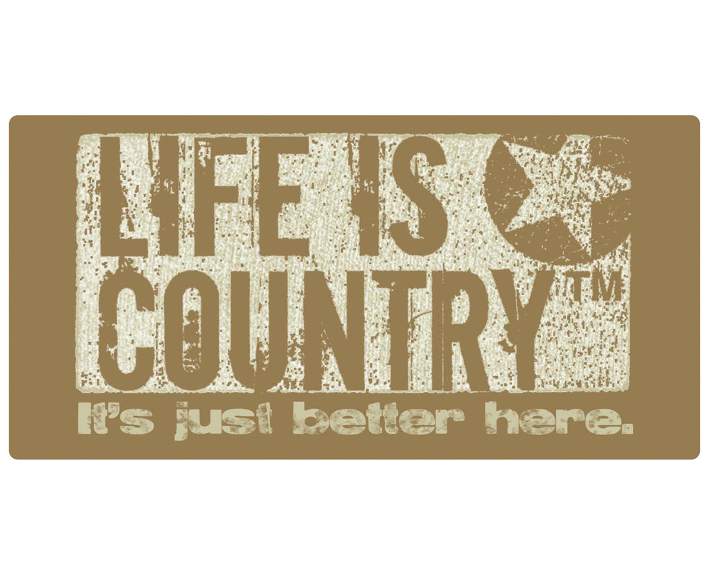 Country Life Metal Wall Hanging