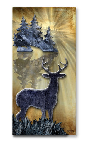 Big Buck Vista Nature Art