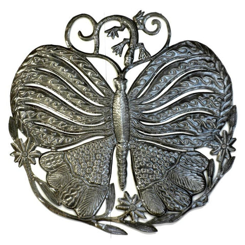 Abstract Butterfly Handcrafted Metal Wall Art
