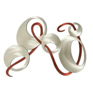 Flowing Ribbon and Ovals