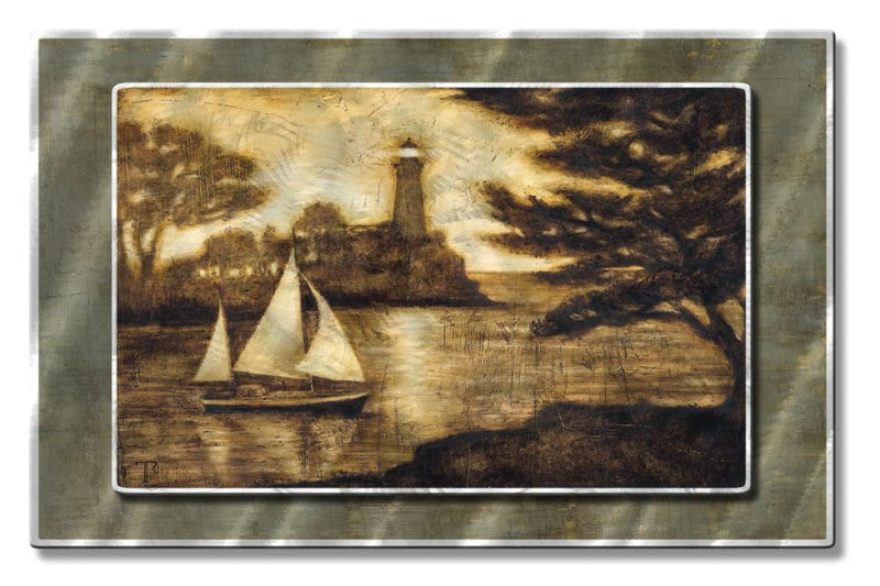 A New Journey Sailboat Art