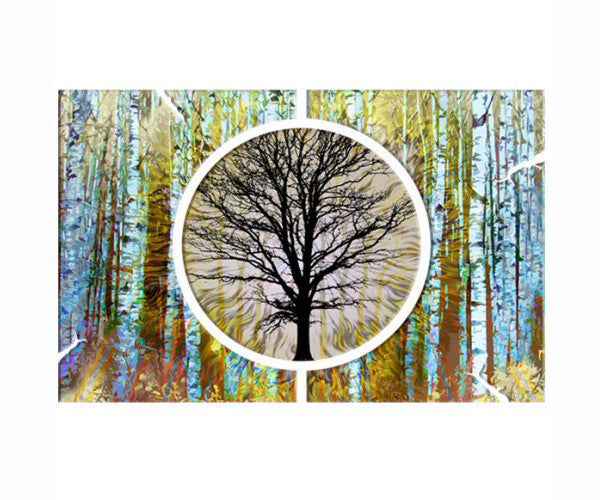 Grand Forest Metal Wall Art