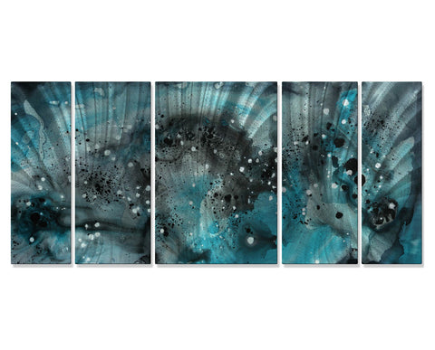 Aquatic Excitement Wall Art Set of 5