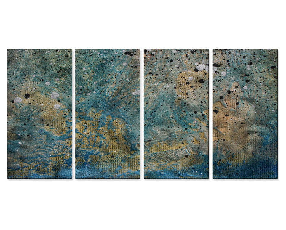 Along the Shoreline Wall Art Set of 4