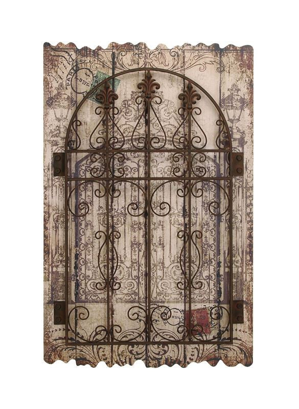 Gateway to Paris Wood Wall Panel