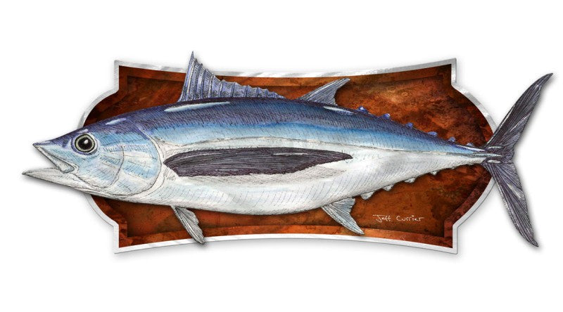 Albacore Fish Wall Plaque