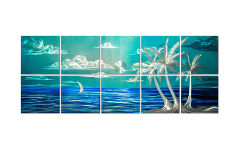 Serenity Unbroken Custom SIze Tropical Wall Art