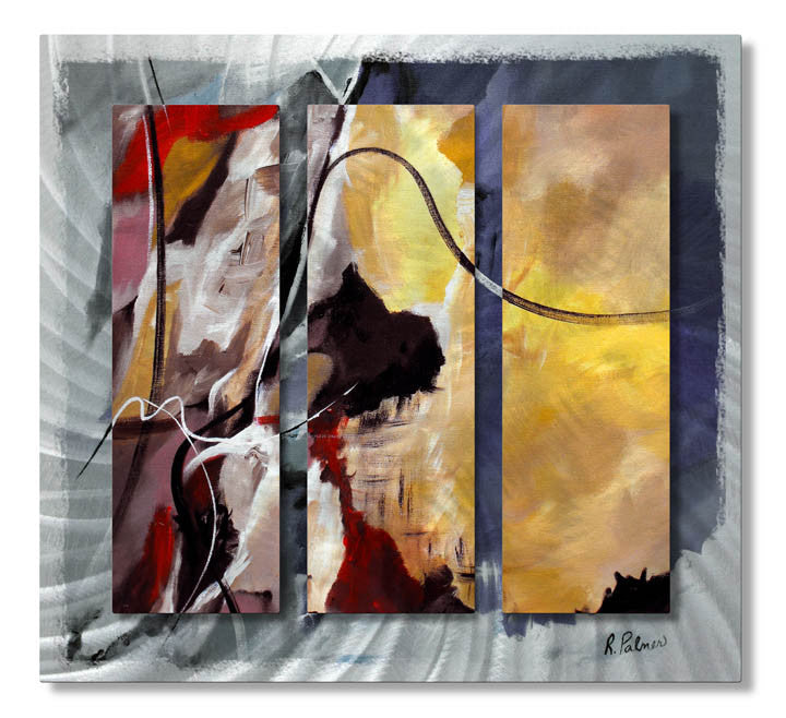 Alternative View Abstract Metal Wall Hanging