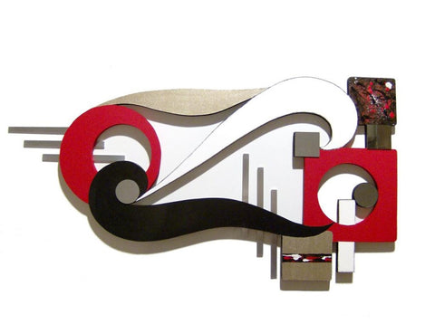 Bird Beak Enlarged Handcrafted Wooden Wall Sculpture