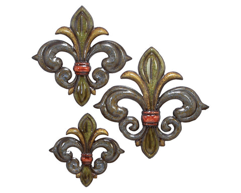 Trio of  Fleurs-de-Lis Set of 3