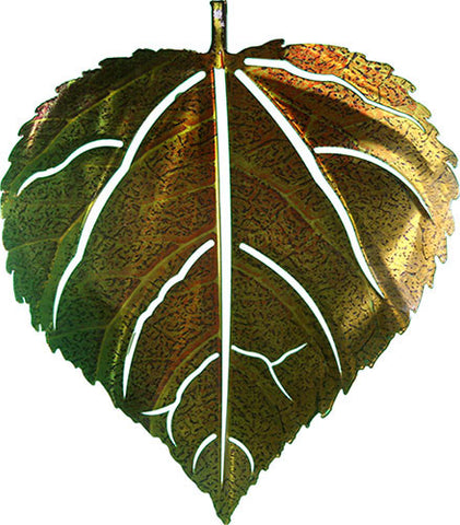 Simplicity of the Leaf Metal Wall Art