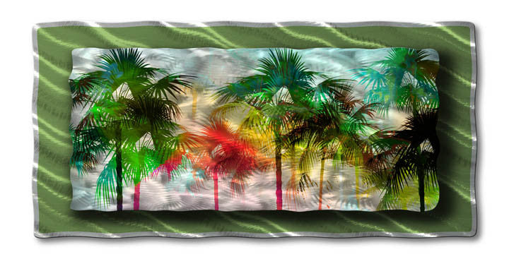 Mirage of Palms Wall Art