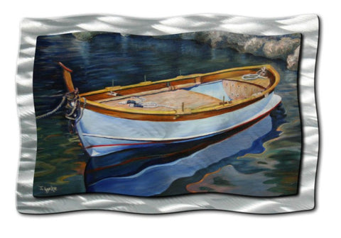A Wooden Skiff Upon the Water
