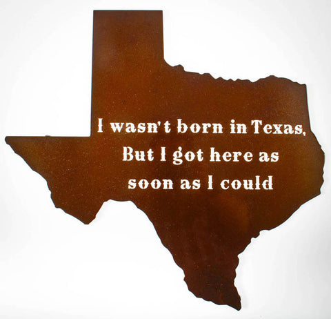 Born in Texas Wall Art