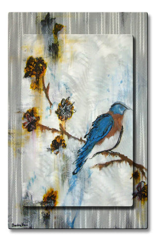 Bluebird's Perch Bird Art