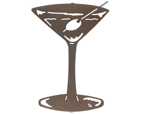 Dry Martini Metal Wall Sculpture