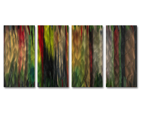 Expressive Color Metal Wall Art
