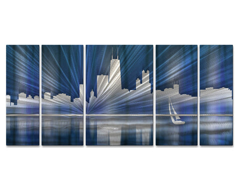 Chicago City Scape Wall Art