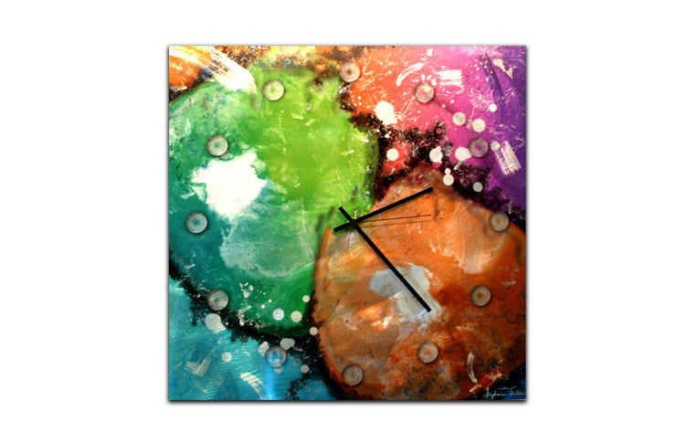 Rainbow of Time Wall Clock