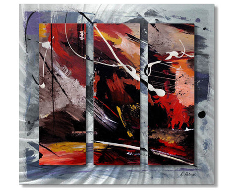 Disengaging Divinity Abstract Metal Wall Art