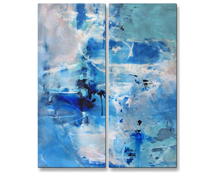 Blue View Wall Hanging Pair Set of 2