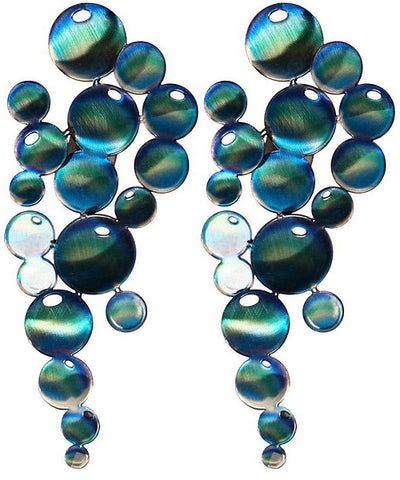 Infinity Bubbles Metal Wall Art Sculpture Set of 2