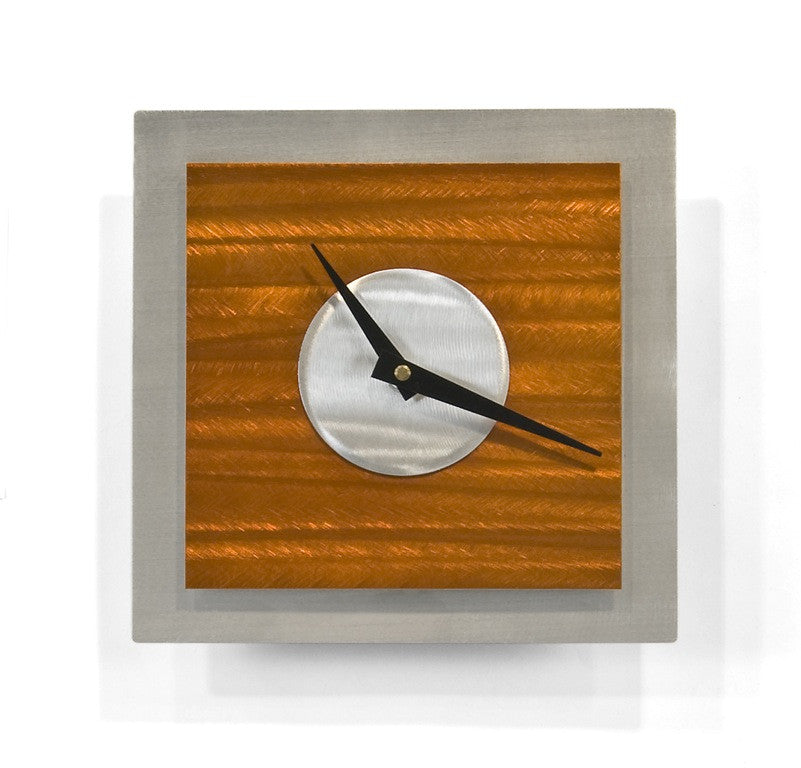 Simple Shapes Contemporary Wall Clock